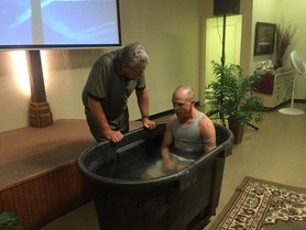 Johnny Brown Baptism