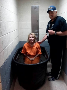 Women Jail Baptism