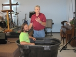 Johnny McKinney Baptism