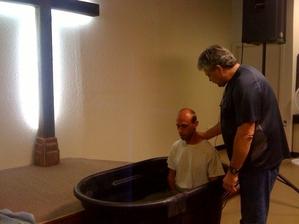 Zach Taylor Baptism