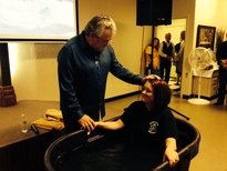 Adranna Sims Baptism