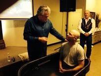 Chad Harding Baptism