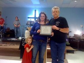 Amanda Certificate