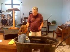Sabrina's Baptism 2